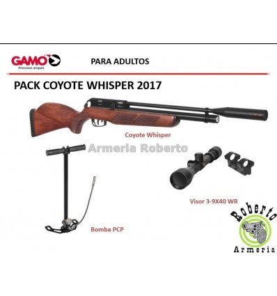 PACK CARABINA GAMO COYOTE WHISPER