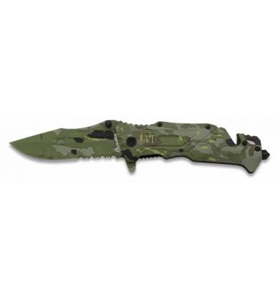 navaja Albainox camo army-ESP. H: 8.7
