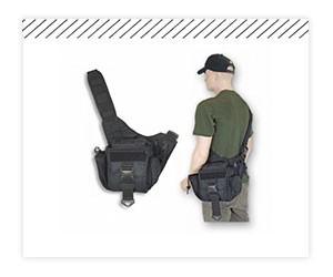 Bandoleras y bolsos tácticos